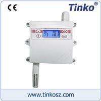 蘇州天和儀器 Tinko 壁掛式溫濕度變送器(帶液晶顯示) TKSF 壁掛式溫濕度變送器(帶液晶顯示)