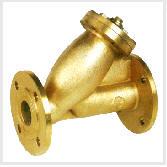 01603黄铜法兰过滤器