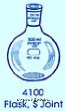 磨口平底烧瓶  PYREXR磨口平底烧瓶