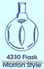 磨口圆底烧瓶(4330系列) PYREXR磨口圆底烧瓶(4330系列)