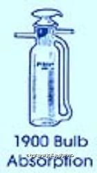 二氧化碳吸收瓶 PYREXR二氧化碳吸收瓶