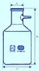 直筒型真空抽氣瓶 SCHOTT