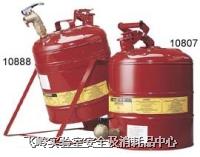 實驗室型鋼制化學品安全儲存罐  實驗室紅色鋼制安全罐