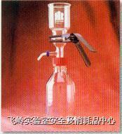 玻璃過濾器 47mm 不鏽鋼濾片 附GL45螺?真空抽氣 KONTES