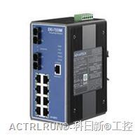 研华EKI-7559MI 10端口网管型冗余千兆以太网交换机(含2个百兆多模光口) EKI-7559MI