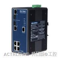 研华EKI-7654C 4+2G光电组合Combo端口网管型冗余千兆以太网交换机 EKI-7654C