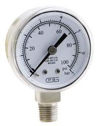 GENTEC压力表20-3000 GRE20-3000