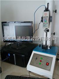 桌上型单柱拉力机,实用拉力机,小电动拉力机图片 AT-8602S