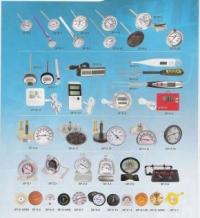 各种类型温度计,湿度计,压力表,温度仪表,流量仪表,工业设备温度计等  温度仪表