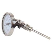 万向型双金属温度计  LX-014-B