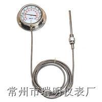 压力式温度计,电接点压力式温度计,全不锈钢压力式温度计 wtz