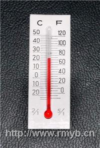 温度计表芯;矿山用温度计;石油温度计;气象用玻璃温度计 RMYB-04