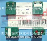 OSTW-R/S-F热电偶测温插座|R/S型绿色热电偶测温端子 OSTW-R/S-F