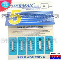 热敏试纸|英国THERMAX热敏试纸 五格C级热敏试纸