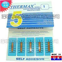 温度纸|英国THERMAX温度纸 五格I级温度纸