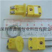 RMJ-K-F热电偶插座+SMPW-K-M热电偶插头|美国omega热电偶连接器 RMJ-K-F/M