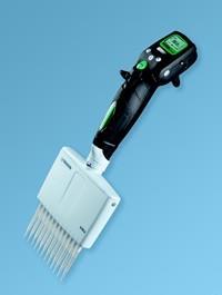 吉尔森Gilson电动移液器 Pipetman Concept十二道电动移液器 0.5-10μL(包括 1个充电器)