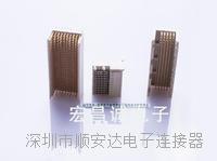 2.0高速背板连接器 2.0高速背板连接器触点数:30、60、90、120、150、180、210、240、300、390
