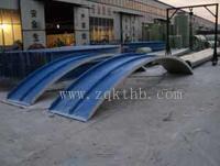 污水处理池臭气收集罩 玻璃钢拱形盖板