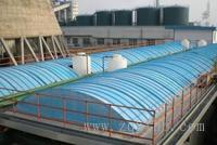 污水处理池加盖(玻璃钢盖板 罩)