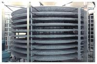 雙螺旋式單體速凍機設備