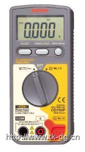CD750P数字万用表 CD750P
