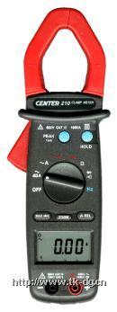 CENTER 210/211交流钳表 CENTER 210/211