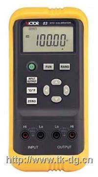 VICTOR03热電阻校验仪 VICTOR 03