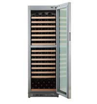 双温区独立式不锈钢酒柜 S-5819D