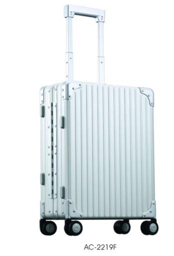 AC-2219F铝镁合金旅行箱  亚光银