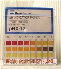 英国WHATMAN原装进口PH试纸0-14 100条装2613-991