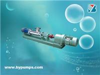 集团专业生产工博牌食品系列螺杆泵/不锈钢螺杆泵/螺杆泵/浓浆泵/不锈钢泵上海博洋水泵厂 Boyang