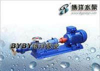GC型锅炉给水离心泵 QJ型潜水深井泵/I-1B系列螺杆泵(浓浆泵)/上海水泵厂021-63800050 I-1B2.5寸
