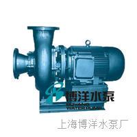 供应工博牌卧式无堵塞直联式排污泵 PW型