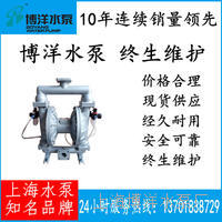 固体粉末输送泵 粉体输送专用隔膜泵 颜料气动输送泵 QBYF型