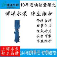 DL立式多级离心泵  立式多级锅炉给水泵离心泵 100DL*2型