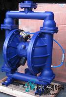 QBYF型气动粉尘隔膜泵 工博牌气动粉体隔膜泵 耐腐蚀气动隔膜泵 QBYF型