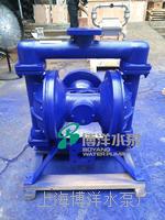 野外专用抽沙,排污等手动隔膜泵  工博牌手摇隔膜泵 BYS型