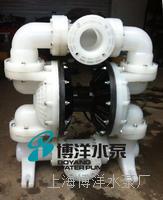 QBY-100型工程塑料气动隔膜泵 污水,化工水等专用气动隔膜泵 QBYF-100