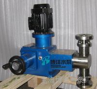 河北化工石油厂J-Z系列柱塞式计量泵 薄膜式柱塞计量泵 J-Z型