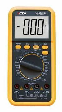 数字万用表 VC9805A+