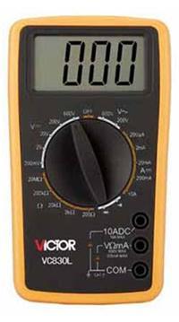 数字万用表 VC830L
