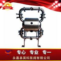 新产品卫生级隔离泵 牛奶输送气动隔膜泵 蛋糕奶油卫生食品级输送泵 YKQW
