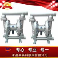 热销塑料铝合金铸铁衬氟不锈钢特氟龙气动隔膜泵 QBY