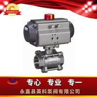 Q611F氣動球閥 Q611F