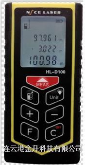 金升供应出口欧美市场市场高精度100米手持激光测距仪HL-D100|耐斯毫米级激光测距仪 HL-D100