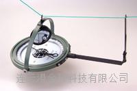 正品矿山悬挂式防磁罗盘仪DQL100-G2悬挂罗盘测角仪带反光镜 DQL100-G2
