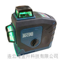 12线3D贴墙仪绿光水平仪贴牌7mm/LD蓝光室内外水平仪 12线 3D