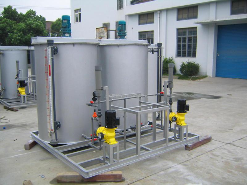 简易型絮凝剂制备装置 絮凝剂制备系统 絮凝剂制备单元 泡药机
