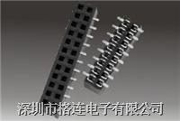 1.0mm排母連接器 pitch:0.5,0.8,1.0,1.27,2.0,2.54,3.96mm